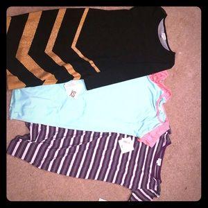 2 lularoe Julia dresses xs&s and 1 Debbie Xs